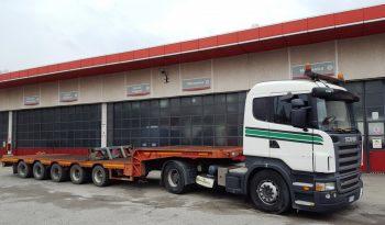 Trasporto Eccezionale – Scania + De Angelis – 85 T Complessivo