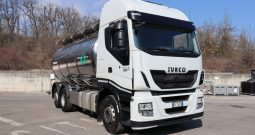 IVECO STRALIS AS260S48 Y/PS CISTERNA LATTE  – 21270